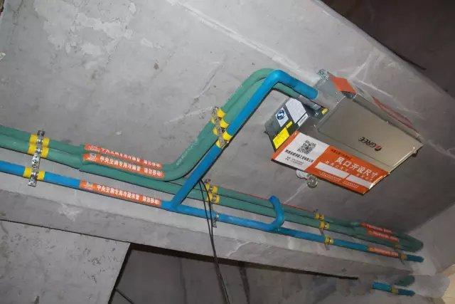 成都格力家用多联机规范安装应该装成什么样?