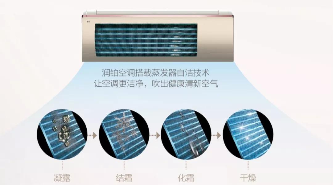 行业首创蒸发器自洁技术,55度高温杀菌