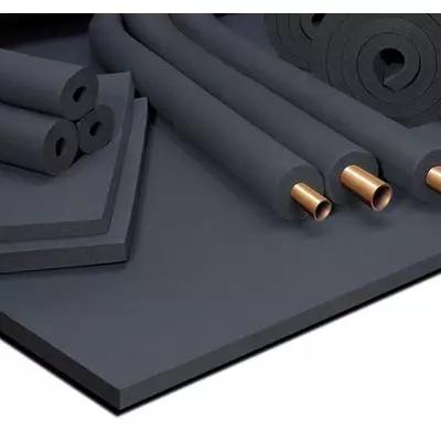 保温材料选择  1)材料:橡塑发泡; 2)规格与要求