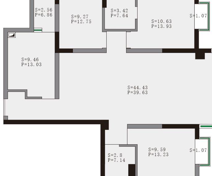 GMV-H160WL/A中央空调一拖五图纸