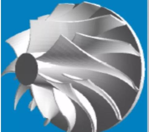 叶轮材料为高强度铝合金