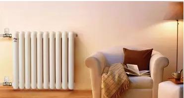 暖气片采暖:即开即热,采暖舒适高效