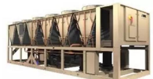 约克变频螺杆式风冷冷水机组YVAA系列