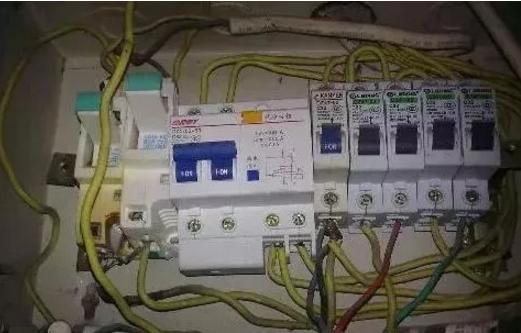 隐患四:电源、控制配线错误