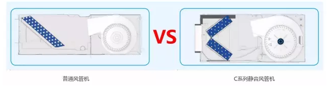 """机组采用""""V""""型换热器,对流换热系数高,增加热交换面积,缩短制冷或制热时间,提升舒适度。"""