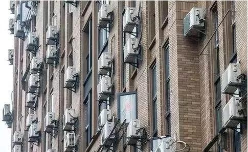 无处安放--没有设备平台,阳台空间小。