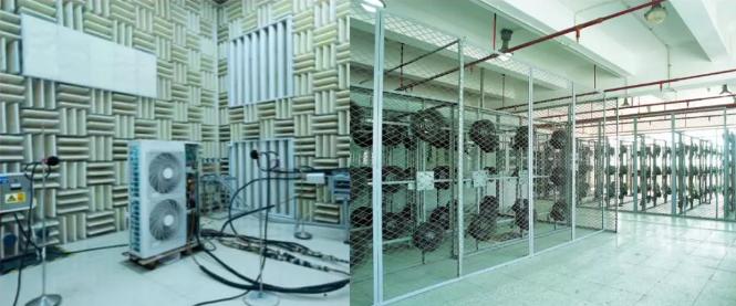 测试产品的运转声音和稳定性,以及长期观察产品(或关键部件)在长时间不停机运转下,再检测产品的运转声音和稳定性