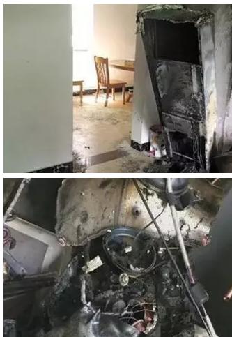 再来看看以下几张图片,都是R32空调维修操作不当或者是制冷剂泄漏,造成的爆炸事故: