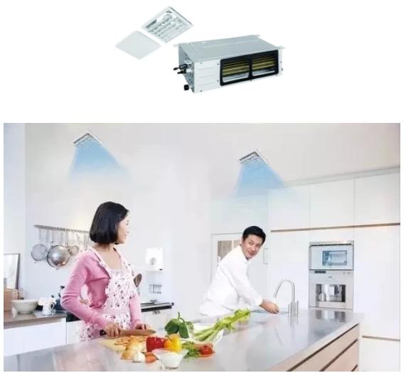 爱心搭档:格力—厨房专用中央空调