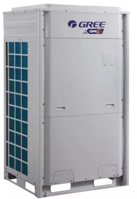 GMV-250W/A、GMV-300W/A、GMV-350W/A、GMV-350W/A1采用一台直流变频压缩机, 制冷系统工作原理图如下