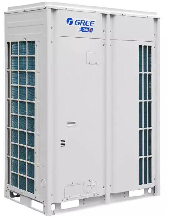 GMV-504W/A、GMV-560W/A、GMV-615W/A 采用两台全直流变频压缩机,制冷系统工作原理图如下: