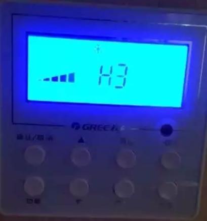 """当你看到格力风管机线控器上出现""""H3""""故障时,会想到什么?翻""""商用机上门服务手册""""查询故障代码是什么意思?"""