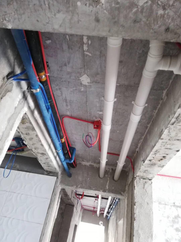 成都格力中央空调家装项目现场图