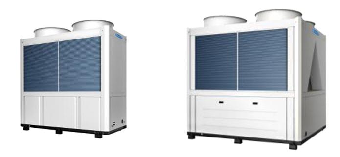 E系列模块式风冷冷(热)水机组广泛应用于新建和改建的大小工业与民用建筑空调工程
