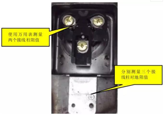 出现压缩机启动就跳空气开关,再恢复以后总空开也出现跳闸