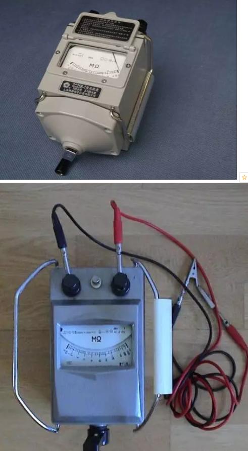 大家使用摇表或者兆欧表来测量压缩机的对地绝缘