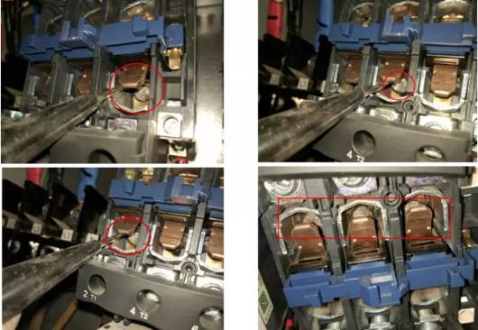 需要特别强调的是,接触器触点焊合(融合)后