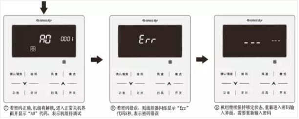 如果输入的密码错误怎么办?