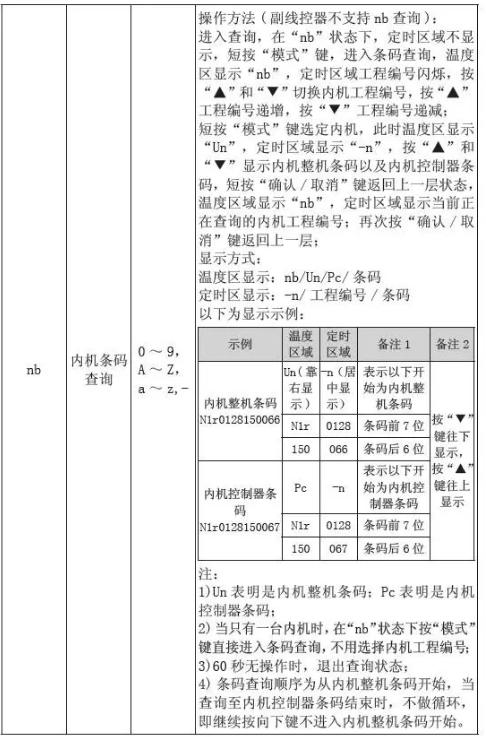 工程参数查询界面下,可同时查询表中的用户参数。