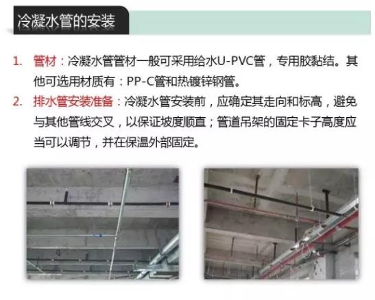 现在大部分工程公司都是采用给水U-PVC管,也可以使用PPR管和镀锌钢管。
