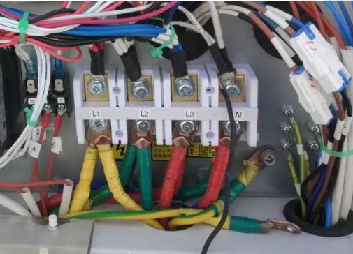 空调接线时的安全事项: