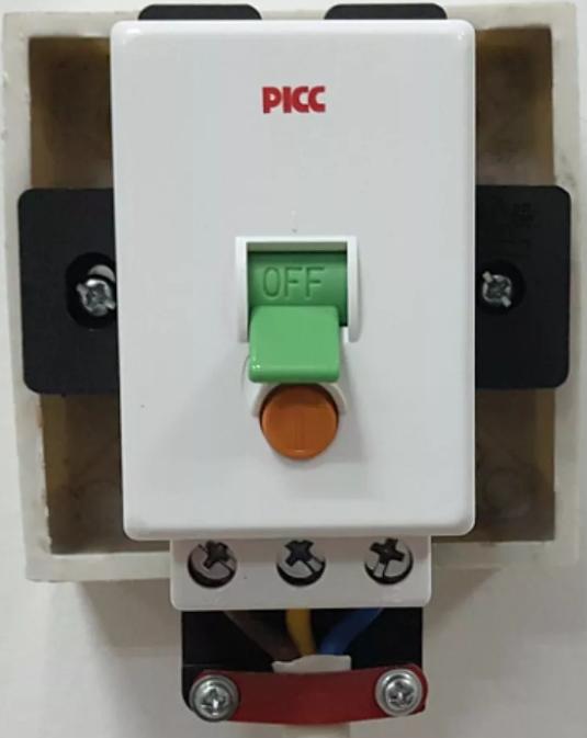 安装漏电保护器,防止意外发生。