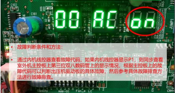压缩机变频驱动板问题