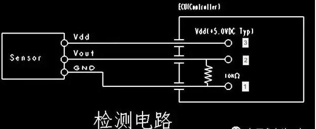 压力传感器检测电路中