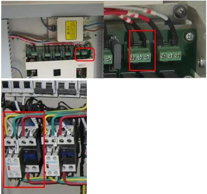 """注意:D系列130M/D模块的水泵联锁点是""""15、16""""。"""